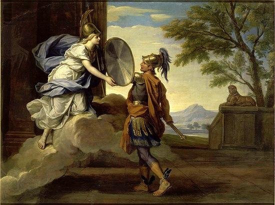 800px-René-Antoine_Houasse_-_Story_of_Minerva_-_Minerva_Giving_her_Shield_to_Perseus,_1697.jpg